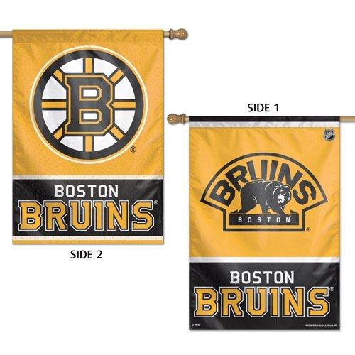WinCraft NHL Boston Bruins 2 Sided Vertical Flag, 28 x 40
