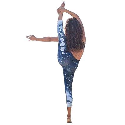 Yoga Pantalons Femme Pantalon Leggings de Sport de Fitness Femme Gym Running Yoga Athletic /élastique int/érieur ext/érieur by Xinantime