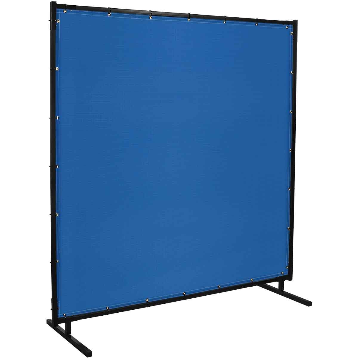 Steiner 535HD-4X6 Protect-O-Screen Hd Welding Screen with 13-Ounce Vinyl Laminated Polyester Curtain, Blue, 4' x 6' by Steiner