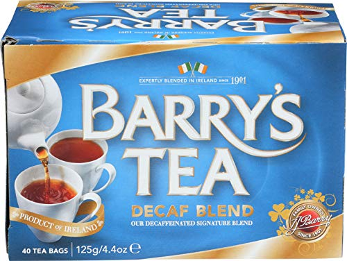 Barry's Tea, Decaffeinated Blend, 40-Count (Pack of ()