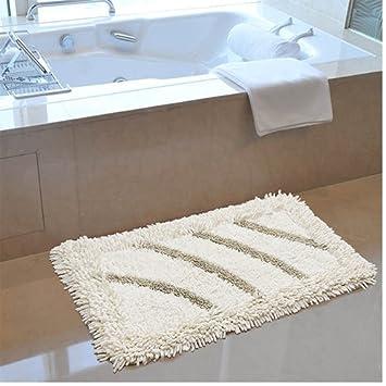L&Y Teppich Badezimmer Teppichboden Bad saugfähige Matten Fußmatte ...