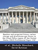 Baseline and Projected Future Carbon Storage and Greenhouse-Gas Fluxes in the Great Plains Region of the United States: Usgs Professional Paper 1787