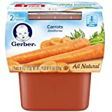 gerber baby food case of 8 - Gerber 2nd Foods Carrot Baby Food, 8 Ounce - 8 per case.