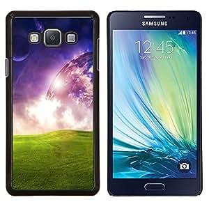 """Be-Star Único Patrón Plástico Duro Fundas Cover Cubre Hard Case Cover Para Samsung Galaxy A7 / SM-A700 ( Universo del extranjero de espacio de Arte Planetario hierba verde"""" )"""