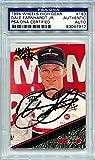 Dale Earnhardt Jr. Rookie NASCAR PSA/DNA Certified Authentic Autograph - 1994 Wheels High Gear (Autographed NASCAR Cards)