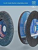 "Pferd 67192 4-1/2"" x 7/8"" POLIFAN Curve Flap Disc"