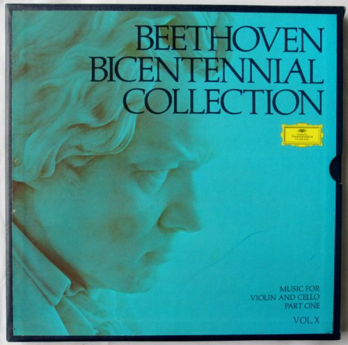 Beethoven Bicentennial Collection, Vol.X: Music for Violin and Cello Part 1