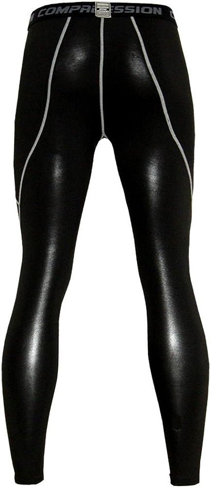YiJee Herren Radfahren Jerseys Schnelltrocknend Fitness Kompressionsshirt Base Layer Pants Set