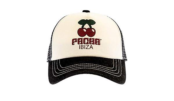 PACHA - Gorra Oficial Logo Ibiza Cerezas Estilo Urban Casual ...