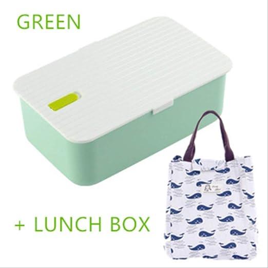 AQBHEDKO Lonchera portátil con Compartimentos Bento Box ...