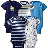 Gerber Baby-Boys Variety Onesies Brand Bodysuits (0-3 Months, Lion)
