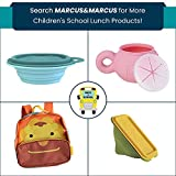 Silicone Toddler Snack Bowl with Lid and