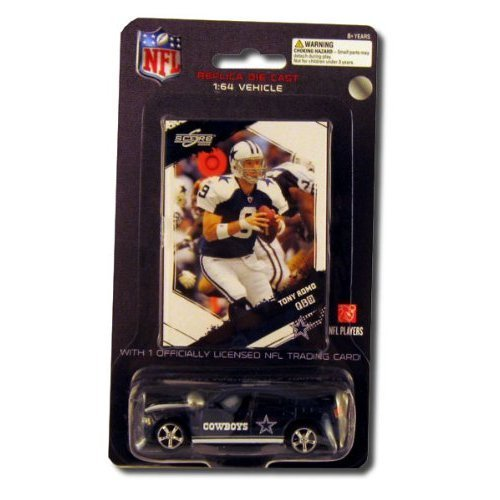 Dallas Cowboys 2009 NFL Limited Edition Die-Cast 1:64 Dodge Charger with Tony Romo Card