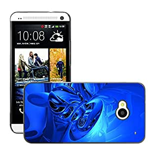 Hot Style Cell Phone PC Hard Case Cover // M00044820 abstract artistic 3d // HTC One M7