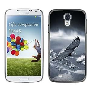 Planetar® ( Flying Eagle America Patriotic Bald Snow ) SAMSUNG Galaxy S4 IV / i9500 / i9515 / i9505G / SGH-i337 Fundas Cover Cubre Hard Case Cover