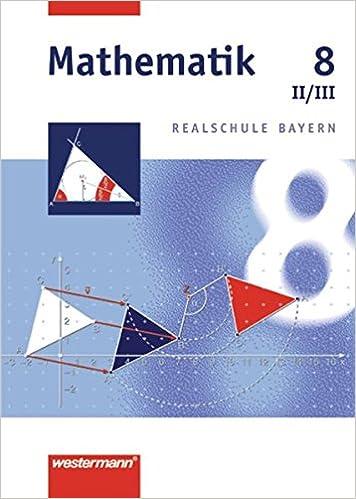 Mathematik 8 Realschule Bayern WPF 2 3 Josef Widl 9783141216585 Amazon Books