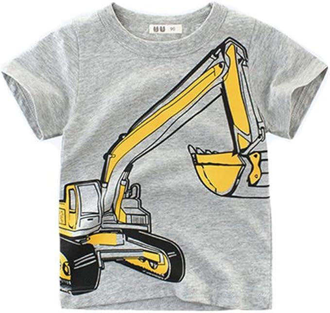 BenCreative Ropa de Verano para niños Camiseta de Manga Corta de ...