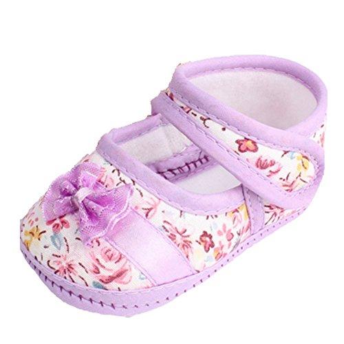 Ohmais Kinder Baby Jungen Baby Mädchen Baby Kleinkind Schuh weich Lila