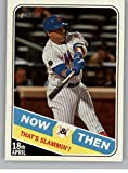2018 Topps Heritage High Number Now and Then #NT-10 Yoenis Cespedes Mets