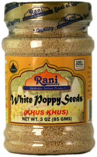 Rani White Poppy Seeds 3oz (85g)