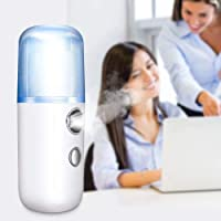 Nano Difusor Sanitizador Portátil Humidificador Spray para Todo Tipo de Superficies, Ropa y Objetos (Blanco)
