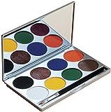 Mehron Paradise Palette Basic, 8 Colors basic E17D1