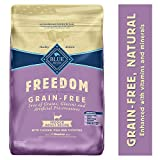 Blue Buffalo Freedom Grain Free Natural Indoor Adult Dry Cat Food, Chicken 11-lb. Larger Image