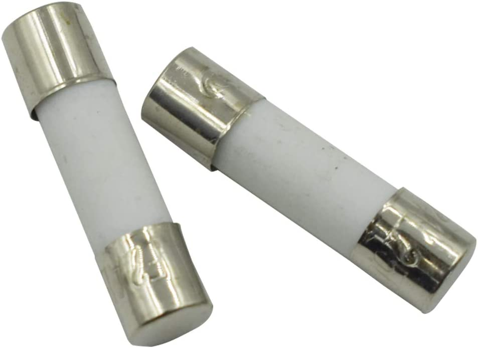 GooTon 250V 2A Ceramic Cylindrical Tube Fuse 5x20mm Pack of 20
