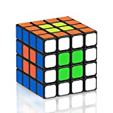 Newisland Speed Cube 4x4x4 Stickers Puzzles Cube, Smooth Durable Magic Cube with Vivid Color