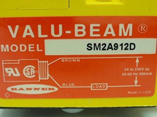 BANNER VALU-BEAM SM2A912D INDUCTIVE PROXIMITY SENSORUSED