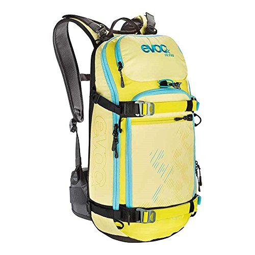 EVOC, FR Pro Women Snow Protector 20L, Backpack, Yellow/Sulphur, S by Evoc
