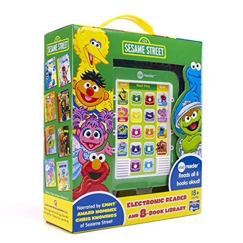 Sesame Street - Me Reader Electronic Reader and 8-Book Library - PI Kids -