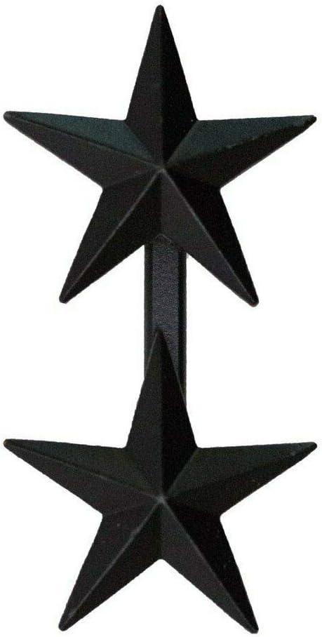"Genuine U.S. Navy/Coast Guard 1"" Balck Coat Device: Rear Admiral (2-Star)(O-8)"