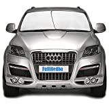 #8: Universal Car Windshield Sun Shade-2 Pieces of Separate Foldable Rectangular 28x31 Inches Windshield Sunshade Protector Can Be Put Up Horizontally or Vertically For SUV, Comes with 2 Bonus Products