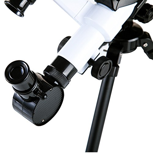 Kids Telescope, DIY Kids Telescope for Beginners, Early Development Science Toys, Three Different Magnification Eyepieces, Finder, Sky Observe, Tripod, Easy Operation, Detachable by Kidcia (Image #3)