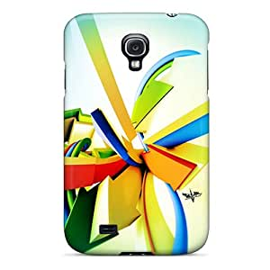 For JamanyRossy Galaxy Protective Cases, High Quality For Galaxy S4 3d Graffiti Background I Skin Cases Covers