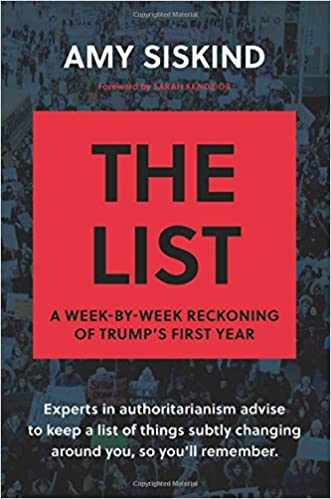 The List A Week By Week Reckoning Of Trump S First Year Amy