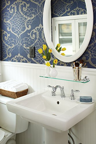 Moen DN8490CH Preston Bathroom Vanity Shelf, Chrome by Moen (Image #1)