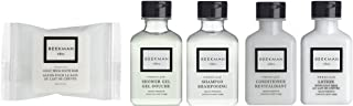 product image for Beekman 1802 Fresh Air Travel Set Shampoo Conditioner Lotion, Shower Gel, Soap