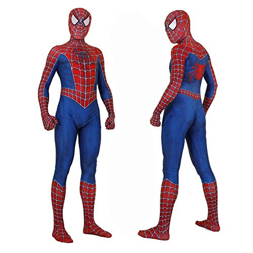 Ultimate Spider Man Game Ps2 Halloween Costumes - Unisex Lycra Spandex Zentai Halloween Cosplay