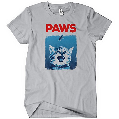 PAWS T-Shirt Funny Adult Womens Cotton Tee Sizes S-2XL