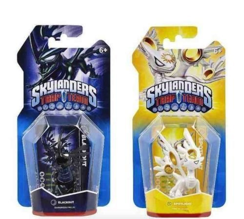 SKYLANDERS TRAP TEAM BLACKOUT & SPOTLIGHT by Activision