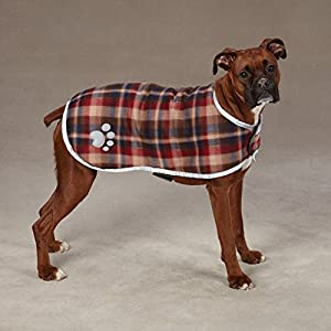 """Zack & Zoey Nor'easter Blanket Coat for Dogs, 30"""" XX-Large, Chive"""