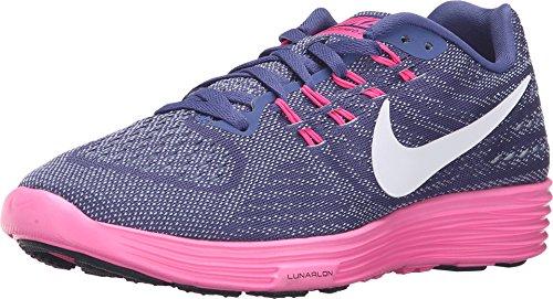 NIKE WOMENS LUNARTEMPO 2 DK PURPLE DUST/PINK BLAST/BLUE GREY/BLACK 818098-500_6 by Nike