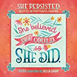 Books : She Persisted 2020 Mini Calendar: Quotes to Motivate and Inspire