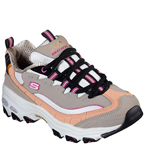 Skechers D'Lites Cool Change Womens Sneakers Taupe/Multi ()