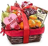 #4: Valentine Treasures Fruit Gift Basket