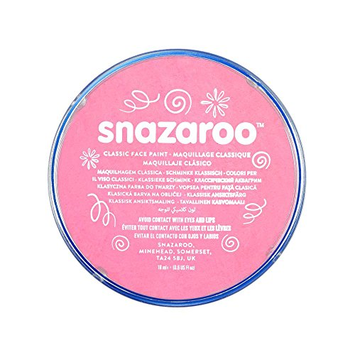 Snazaroo Classic Face Paint, 18ml, Pale Pink -