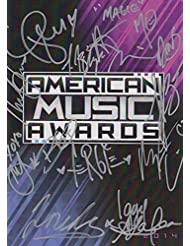 American Music Awards signed program (Taylor Swift, Mary J. Blige, Magic, Fer...