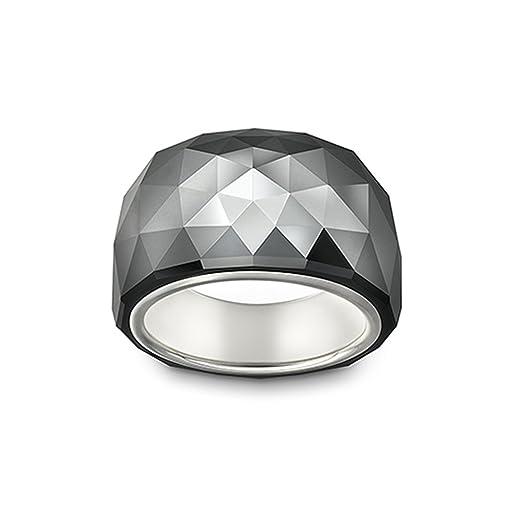 Amazoncom Swarovski Nirvana Petite Jet Hematite Ring Jewelry